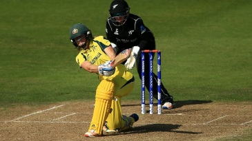 Ellyse Perry struck her 19th half-century