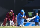 MS Dhoni's sweep makes a rare appearance , West Indies v India, 4th ODI, Antigua, July 2, 2017