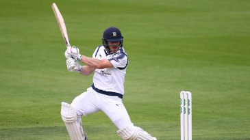 Jimmy Adams continued Hampshire's dominance