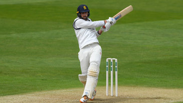 Matthew Lamb aided Warwickshire's recovery with a half-century