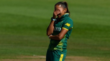 Shabnim Ismail sent down an expensive first spell