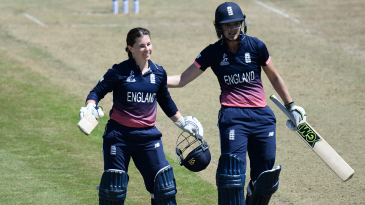 Tammy Beaumont and Sarah Taylor added 275 off 209 balls