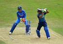 Shashikala Siriwardene carves one off the back foot, India v Sri Lanka, Women's World Cup 2017, Derby, July 5, 2017