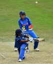 Dilani Manodara used the scoop effectively, India v Sri Lanka, Women's World Cup 2017, Derby, July 5, 2017