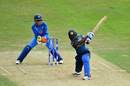 Ama Kanchana could hardly bother the Indian bowlers, India v Sri Lanka, Women's World Cup 2017, Derby, July 5, 2017