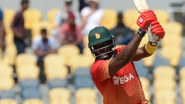 Hamilton Masakadza played some powerful drives