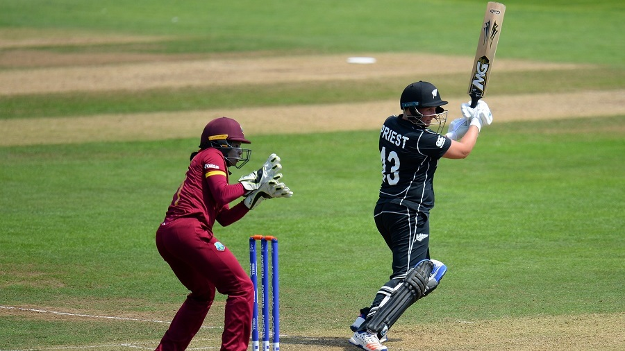 West Indies thrashed by New Zealand at Taunton