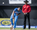 Mohammed Shami stuck to disciplined lines and lengths  early on, West Indies v India, 5th ODI, Kingston, July 6, 2017
