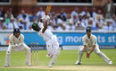 Temba Bavuma drives down the ground, England v South Africa, 1st Investec Test, Lord's, 2nd day, July 7, 2017