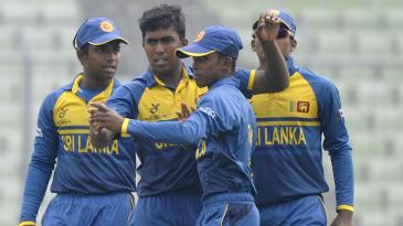 Asitha Fernando got the big wicket of Rishabh Pant