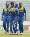 Asitha Fernando got the big wicket of Rishabh Pant, India v Sri Lanka, Under-19 World Cup 2016, Mirpur