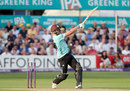 Dom Sibley's 61 kept Surrey's innings on track, Essex v Surrey, NatWest T20 Blast, South Group, Chelmsford, July 7, 2017