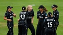 Hannah Rowe struck twice off two balls on World Cup debut, New Zealand v Pakistan, Women's World Cup, Taunton, July 8, 2017