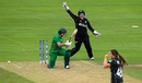 Amelia Kerr bowled Nahida Khan around her legs, New Zealand v Pakistan, Women's World Cup, Taunton, July 8, 2017