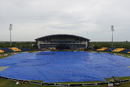 Rain halted play for more than an hour, Sri Lanka v Zimbabwe, 4th ODI, Hambantota, July 8, 2017