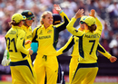 Kristen Beams dismissed Sarah Taylor and Heather Knight in successive overs