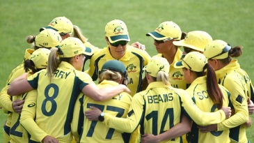 Meg Lanning was back to lead Australia