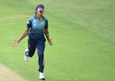Sripali Weerakkody exults after taking out Stafanie Taylor, West Indies v Sri Lanka, Women's World Cup, July 9, 2017