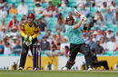 Aaron Finch made an impact for Surrey, Surrey v Somerset, NatWest Blast, South Group, Kia Oval, July 9, 2017