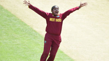 Anisa Mohammed broke open the game for West Indies