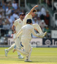 Liam Dawson claimed the big wicket of Hashim Amla, England v South Africa, 1st Investec Test, Lord's, 4th day, July 9, 2017