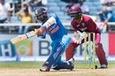 Dinesh Karthik was generous with his sweeps, West Indies v India, Only T20I, Kingston, July 9, 2017