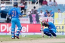 Rishabh Pant copped a painful blow to his left shoulder, West Indies v India, Only T20I, Kingston, July 9, 2017