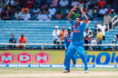R Ashwin reacts after a narrow miss, West Indies v India, Only T20I, Kingston, July 9, 2017