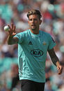 Stand-in captain Jade Dernbach suffered a 12-run penalty , Surrey v Somerset, NatWest Blast, South Group, Kia Oval, July 9, 2017