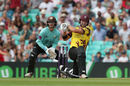 Corey Anderson gave Surrey a scare , Surrey v Somerset, NatWest Blast, South Group, Kia Oval, July 9, 2017