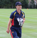 Captain Claire Taylor walks off after securing victory, USA Women v MCC Women, Philadelphia, September 11, 2016