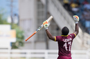 Evin Lewis' unbeaten 125 handed West Indies a nine-wicket win, West Indies v India, Only T20I, Kingston, July 9, 2017