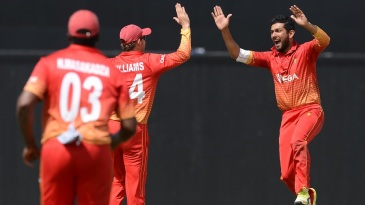 Sikandar Raza jolted Sri Lanka with early strikes
