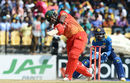 Hamilton Masakadza recorded his second fifty-plus score of the series, Sri Lanka v Zimbabwe, 5th ODI, Hambantota, July 10, 2017