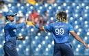 Lasith Malinga ended Hamilton Masakadza's resistance, Sri Lanka v Zimbabwe, 5th ODI, Hambantota, July 10, 2017