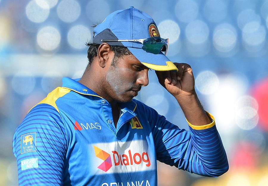 Angelo Mathews steps down from Sri Lanka's captaincy