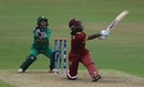 Deandra Dottin lays into a slog sweep, Pakistan v West Indies, Women's World Cup, Leicester, 11 July 2017