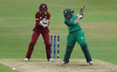 Javeria Khan forces one through the off side, Pakistan v West Indies, Women's World Cup, Leicester, 11 July 2017