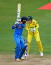 Smriti Mandhana was caught behind off Ashleigh Gardner, Australia v India, Women's World Cup, Bristol, July 12, 2017