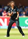 Suzie Bates claims the wicket of Heather Knight, England v New Zealand, Women's World Cup, Derby, July 12, 2017