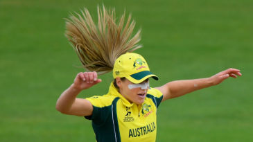 Ellyse Perry in a boisterous mood