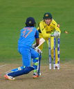 India lost a clutch of wickets after a mammoth second-wicket stand, Australia v India, Women's World Cup, Bristol, July 12, 2017