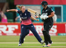 Anya Shrubsole removed Rachel Priest early in New Zealand's chase, England v New Zealand, Women's World Cup, Derby, July 12, 2017