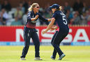 Alex Hartley claimed the big wicket of Suzie Bates, England v New Zealand, Women's World Cup, Derby, July 12, 2017