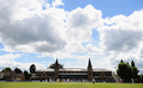 A general view of the match at Cheltenham College, Gloucestershire v Essex, County Championship Division Two, 2nd day, Cheltenham, July 14, 2016