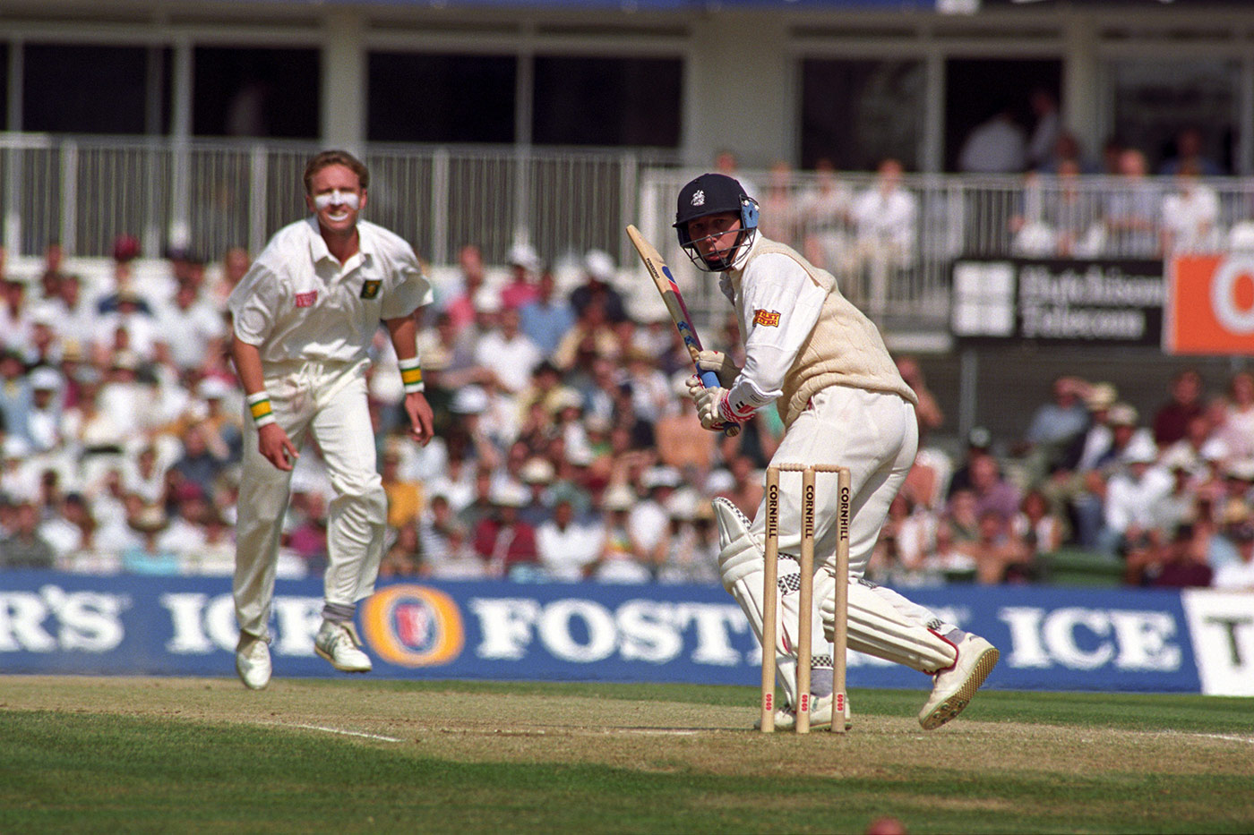 That old familiar battle: Donald v Atherton on day three