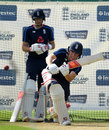 Gary Ballance bats in England nets, Trent Bridge, July 13, 2017