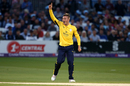 Mason Crane bagged two vital wickets, Sussex v Hampshire, NatWest Blast, South Group, Hove, July 12, 2017