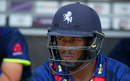 Kent batsman Daniel Bell-Drummond prepares for the fray, Gloucestershire v Kent, NatWest T20 Blast, South Group, Cheltenham, July 13, 2017