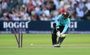 Kumar Sangakkara comes to grief attempting to ramp Steven Finn, Middlesex v Surrey, NatWest Blast, South Group, Lord's, July 13, 2017